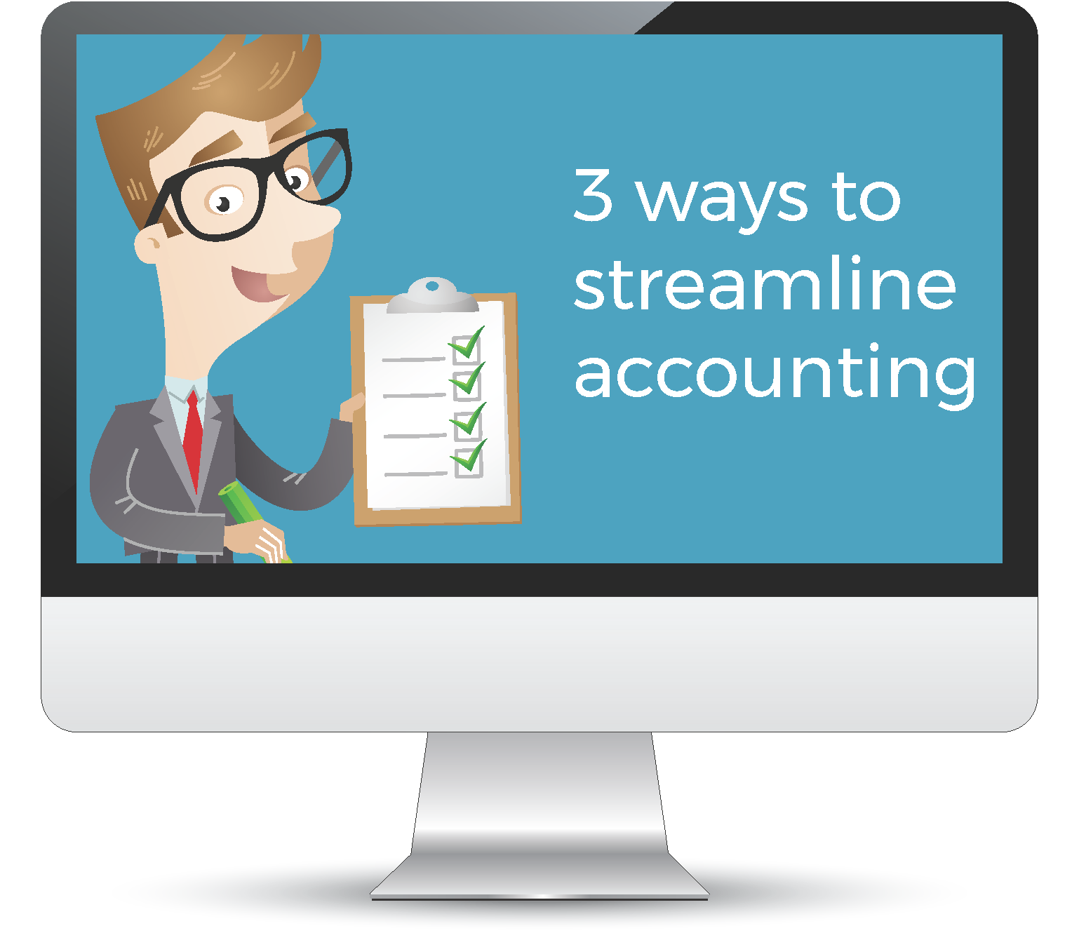 Streamline accounting department